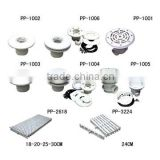 Plastic Accessories for Spa and Swimming Pools