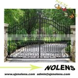 entrance steel gate design/Wholesale Multifunction Design Main Sliding Iron Gate House