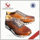 Sneaker Factory wholesale genuine leather active sapatos for men sport shoes