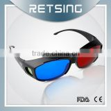 High quantity 3d glasses, blue films pictures red blue cyan 3d glasses for cheap eyeglass frame