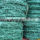 Plastic safety barbed wire mesh fence Barbed wire coil