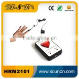 Sounon usb heart rate sensor,ear pulse heart rate meter and finger clip heart rate meter