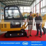 C10 High quality track crawled small cheaper japanese engine auger Russian European Germany mini excavator for sale