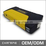 2015 Fashion design portable jump starter with 16800mah power bank speaker