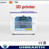 HIGH QUALITY!!! 3D printer ABS/PAL Extrusion Machine desktop 3D printer with LED display