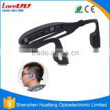 Alibaba New Type On-ear headband Bone conduction bluetooth v4.0 bluetooth stereo headphone