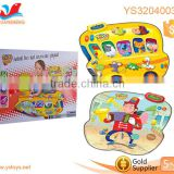 Early childhood educational toys Musical Playmat Safe non-toxic play mat