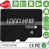 OEM high quality Full Capacity factory micro memory sd card 128GB sd memory card 128gb Classc10