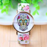 2015 hot sales fashion colourful watch Rose Flower Belt Spring Strap China Wholesale Ladied Fashion Watches Latest