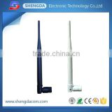 Wifi GSM L band rubber Antenna/ foldable Duck antenna GSM or CDMA wifi 2.4g aerials with SMA-Male connector