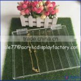 Best Product Clear Acrylic Cash Tray With Base/Modern Acrylic Cash Tray Manufacurer/Acrylic Coin Tray