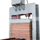 plywood veneer hydraulic cold press machine