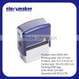 Plastic Self-Ink Stamp Date Time Stamp Machine Roller stamp