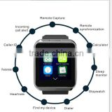 2015 factory fashion touch screen bluetooth speaker watch