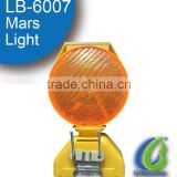 LB-6007 Facotry made Flashing Safety Road Polycarbonate Plastic Solar Barricade Warning Light