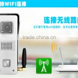 2016 Real time video and audio intercom Danmini Wifi doorbell 3, remote intercom monitor unlock on IOS Android APP