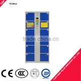 K/D popular electronic smart online shipping locker for click&collection gym lockers small doors metal electronic safe locker