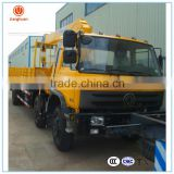 chinese truck manufacture used construction equipment 8 ton hydraulic folding truck crane for sale