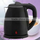 1.2L Zhongshan household/home appliances black color concealed heating element electric whistle kettle