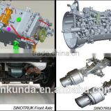 Sinotruk howo truck parts original 336hp 371hp HW15710 HW19710 transmission assy for sale