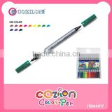 Double tip sides water color pen item # 817
