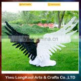 Wholesale christmas birthday party decoration adult fairy wings black and white large feather angel wings