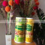 custom printing food grade hdpe ldpe pet plastic packing film roll