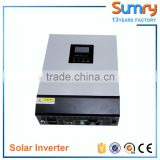 PS series 3000va 24v 5000va 48v solar inverter with pwm 50a controller and parallel function