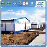 Cheap low cost prefab garage duplex house steel building