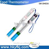 Digital Food Thermometer, Pen Style Kitchen BBQ Temperature Measurement Instruments Cooking Termometro