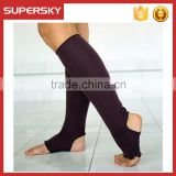 A-85 yoga pilates sock with no heel no heel and toe yoga socks dance socks without heel and toe