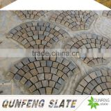 split surface finishing and erosion resistance antacid natural edge rusty flexible thin slate tile stone veneer molds