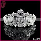 New Cheap Wedding Accessories Alloy Tiara For Bride 2013
