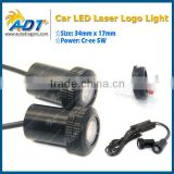 hot selling 7w led logo laser light ghost shadow light car welcome light for bmw for audi for ford for vw for mercedes