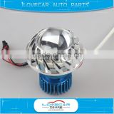 12V helical led angel eye led projector lens for 2 inch mask/cover motorbike car body kit retrofit