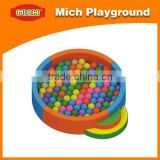 Children soft play ball pool equipment