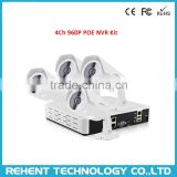 960P 1.3MP IP Camera CCTV Nework POE NVR kits Video Security Surveillance System 4Ch POE NVR Recorder IP Camera