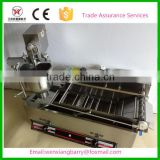 Electric and gas commercial donut maker machine for doughnut making and frying
