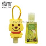 Guangzhou Manufacturer Hot Selling Cute Mini Bear Cartoon Figure Antibacterial Gel Hand Sanitizer Holders Gifts