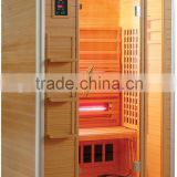 Wooden far infrared sauna room/indoor sauna steam room /infrared spa sauna room manufacturer