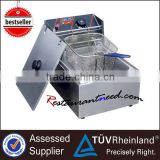 K033 1 Tank 1 Basket Electric Mini Chip Fryer