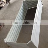metal galvanized raised garden frame gardenbed planting bed hot sale eco friendly planter