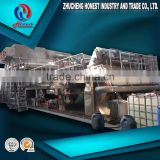 full production line small type advanced waste paper recycling kitchen paper towel making machine with new technology