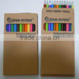 promotional recycled color pencil 12pcs stationery sets in box (TNPPC01S-12)                                                                         Quality Choice