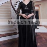 MAIN PRODUCT!! OEM Quality bead embroidered evening dress with good prices