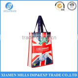 Suitable as a reusable promotional giveaway non woven tote bag with in matte or gloss finish