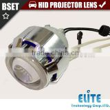 Motorcycle lens 2.0 inches ABT double angel eyes plastic car projector lamp headlights