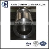 Shaft material propellers for boats gearboxes stranding machine
