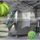 banana peeling machine/peeling banana machine/banana stripper/green banana processing machine/banana peeler