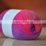 Cnlucky Factory Recycled Acrylic/polyesyer Blended Yarn for Weaving/Knitting, Factory Direct Acrylic Yarn Prices